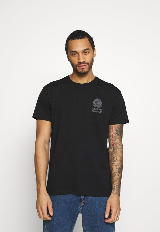 TOGETHER - T-shirt con stampa - black