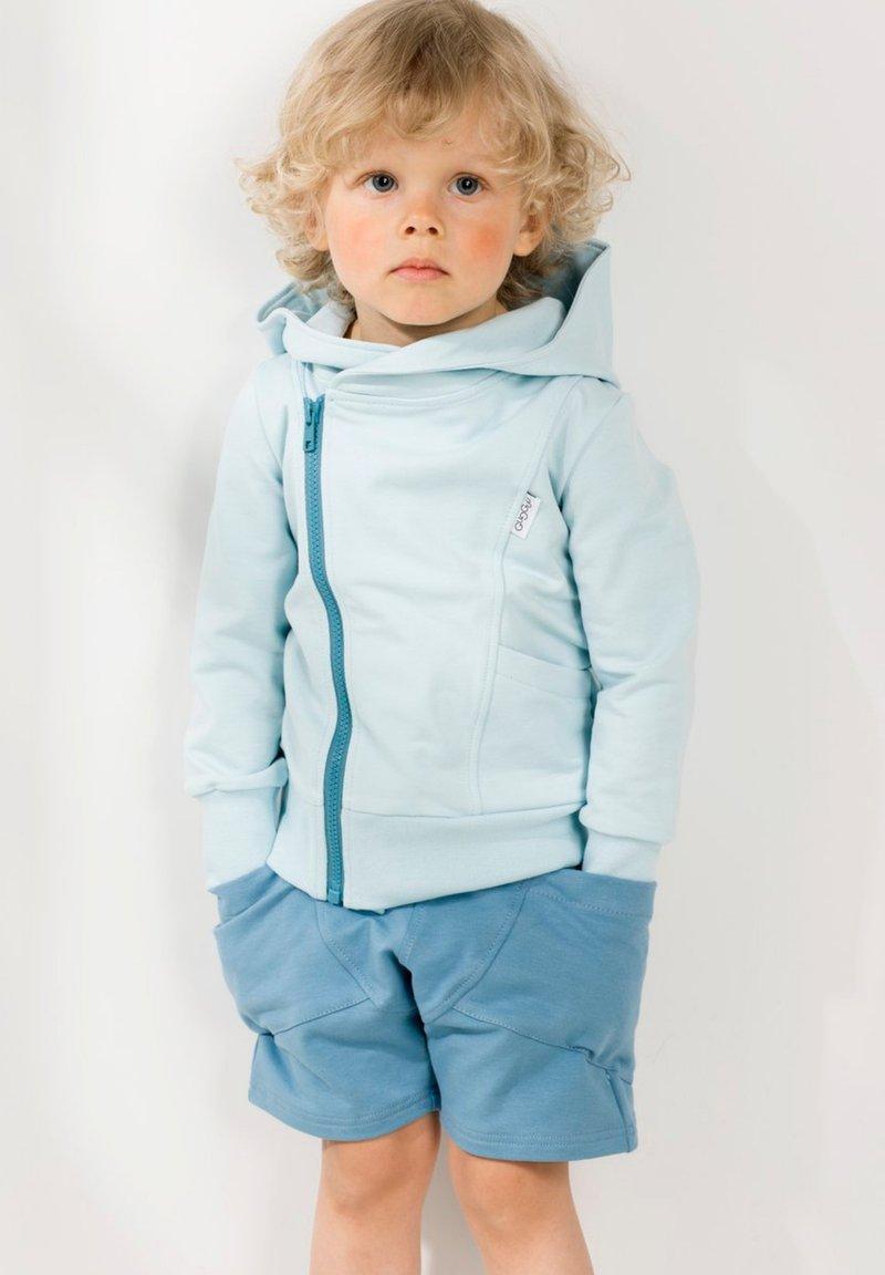 GUGGUU - COLLEGE - Shorts - blue