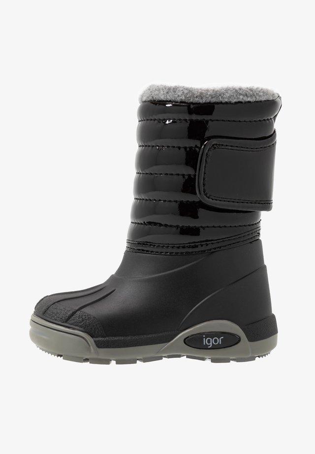TOPO SKI CHAROL - Winter boots - black