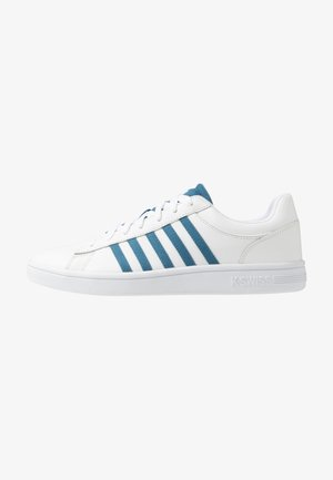 COURT WINSTON - Trainers - white/blue heaven