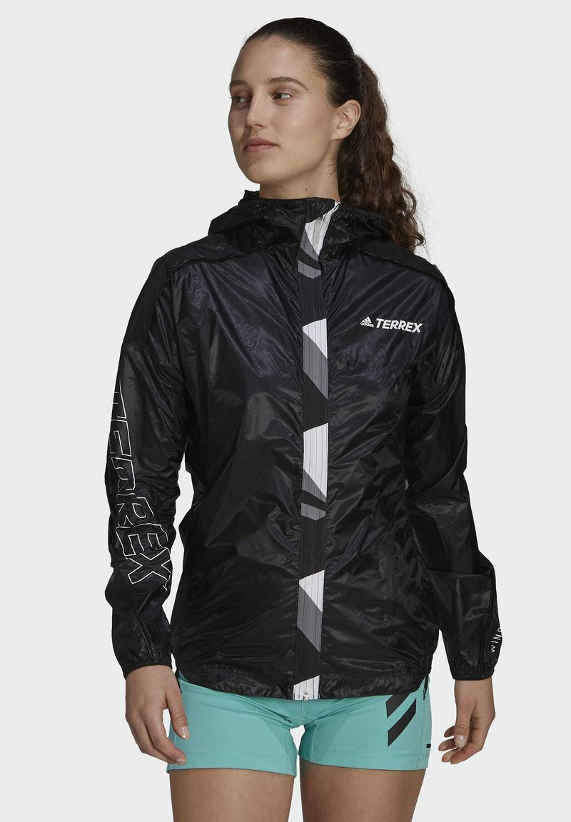 adidas Performance - TERREX AGRAVIC PRO WIND.RDY WINDBREAKER - Windbreaker - black