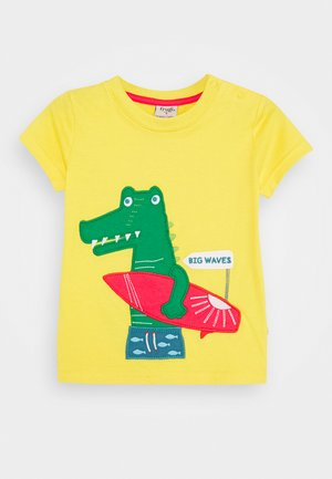 JAMES CROCODILE  - Printtipaita - sunflower
