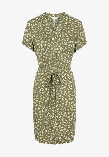 BIRDY DRESS - Skjortekjole - deep lichen green