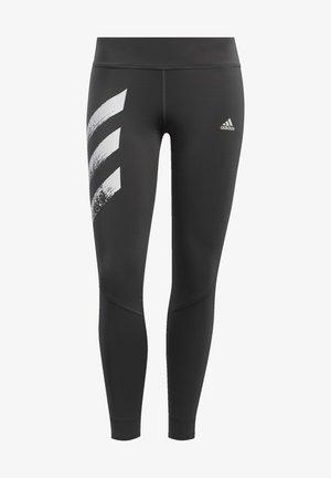 OWN THE RUN 3-STRIPES FAST LEGGINGS - Leggings - grey