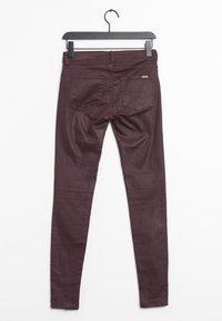 Mango - Trousers - purple - 1