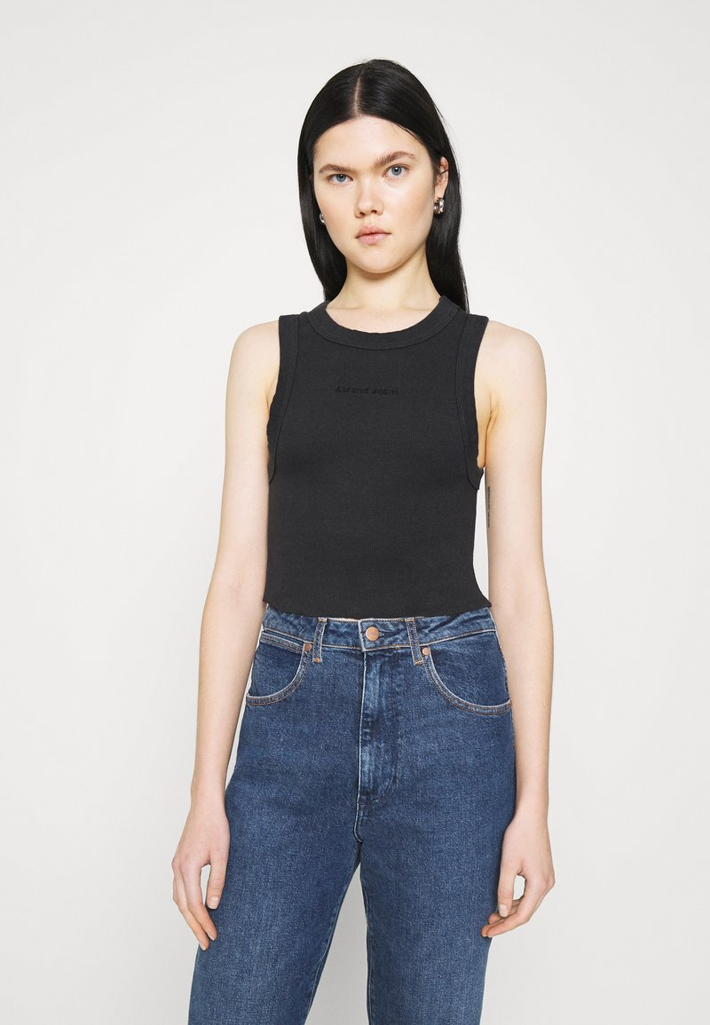 Abrand Jeans - HEATHER SINGLET - Top - black sea