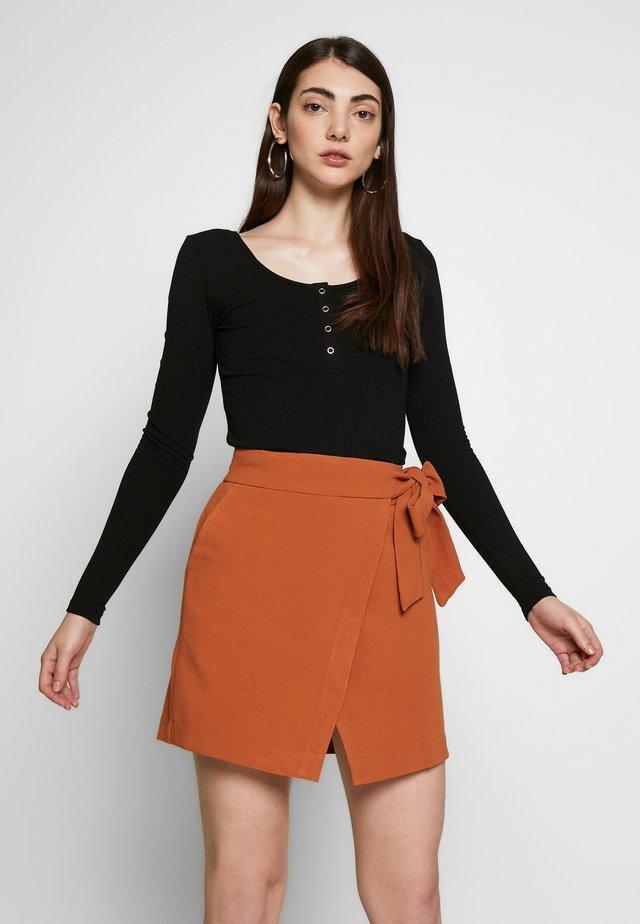 PCKITTE - Long sleeved top - black