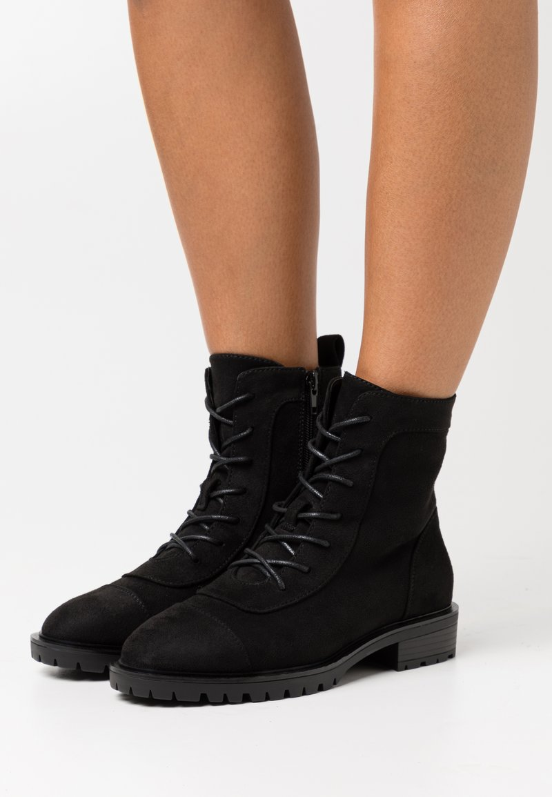 Even&Odd - Lace-up ankle boots - black