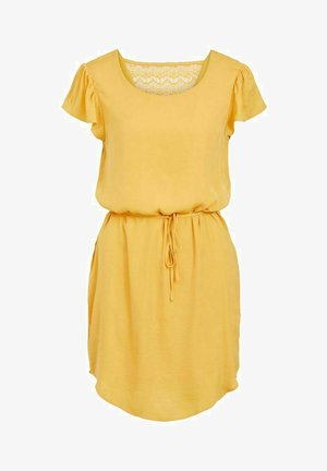 Day dress - golden apricot
