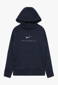 Nike Performance - FRANKREICH FFF HOOD - Oblečení národního týmu - dark obsidian - 0