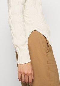 Polo Ralph Lauren - LONG SLEEVE - Jersey de punto - croquet cream - 5