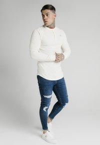 SIKSILK - Camiseta de manga larga - ecru - 3