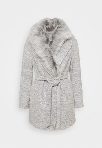 New Look Petite - COLLAR COAT - Classic coat - mid grey - 6