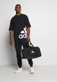 adidas Performance - BOXBOS TEE - Print T-shirt - black/white - 1