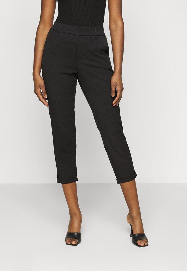 VMMAYA SOLID PANT - Pantalon classique - black