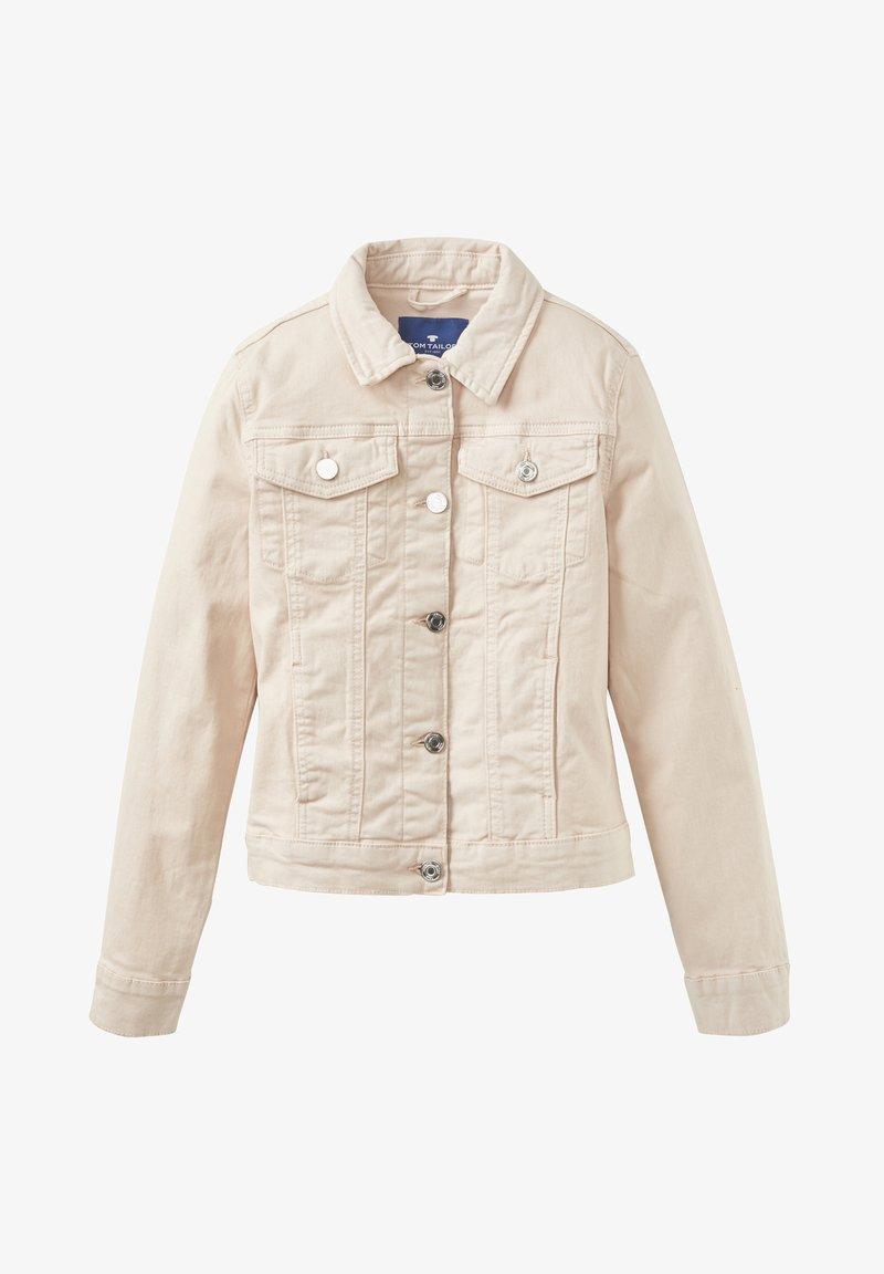 TOM TAILOR - ROSA  - Denim jacket - peachy keen|rose