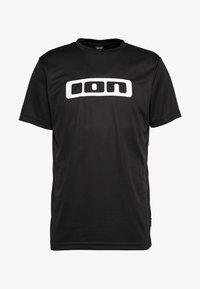 TEE SCRUB - Print T-shirt - black