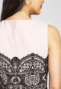 Apart - COLORBLOCKING DRESS - Robe de soirée - black - 4