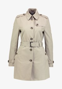 HERITAGE SINGLE BREASTED - Trenchcoat - medium taupe