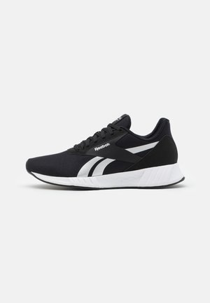 LITE PLUS 2.0 - Neutral running shoes - core black/footwear white/silver metallic