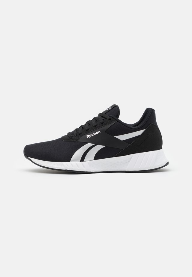 LITE PLUS 2.0 - Zapatillas de running neutras - core black/footwear white/silver metallic