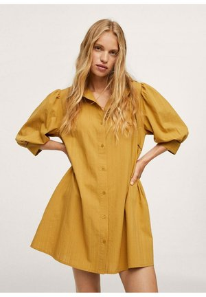 TEXTUUR - Button-down blouse - mosterd