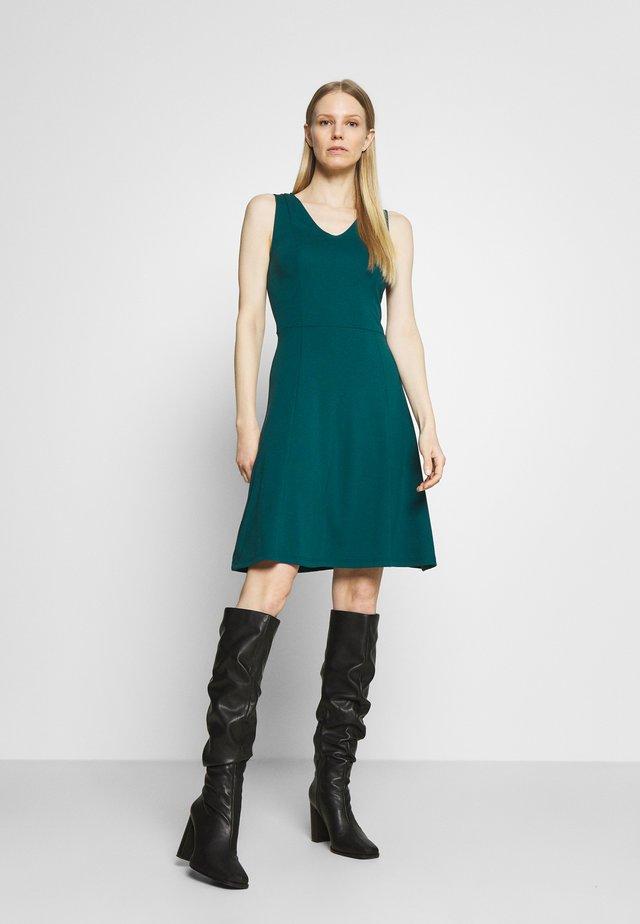 Sukienka z dżerseju - teal