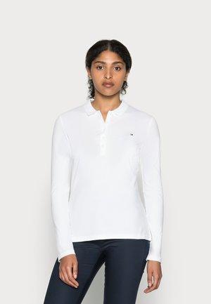 HERITAGE LONG SLEEVE SLIM  - Polo shirt - classic white