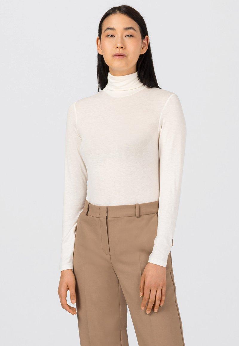 HALLHUBER - Long sleeved top - creme