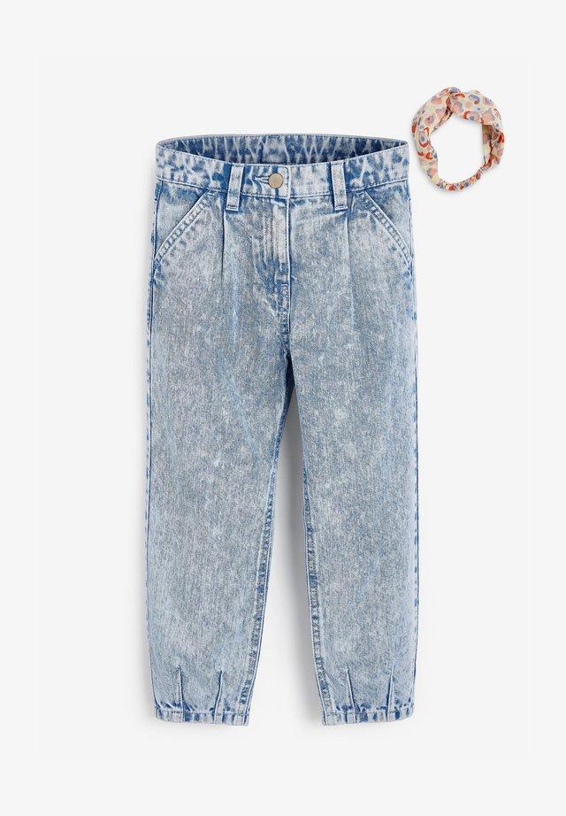 SET - Jeans baggy - blue
