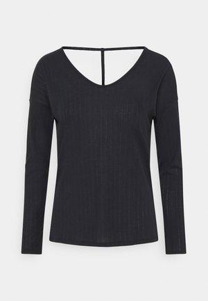 POINTELLE - Sportshirt - black