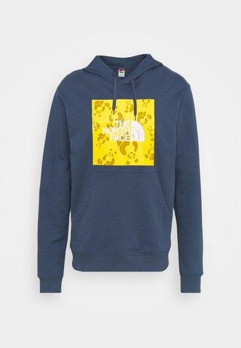 RENEWED PANDA HOODIE UNISEX - Sweatshirt - vintage indigo