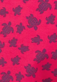 Vilebrequin - MICRO ROUND OF TURTLES - Swimming shorts - gooseberry red - 2
