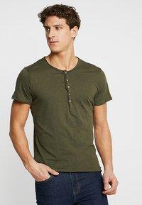 Key Largo - LEMONADE - T-shirt basic - olive - 0