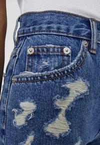 PULL&BEAR - Shorts di jeans - blue - 5