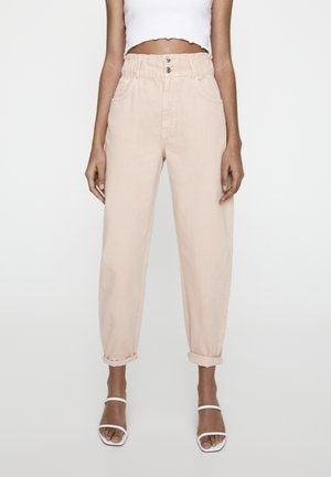 Relaxed fit jeans - rose gold