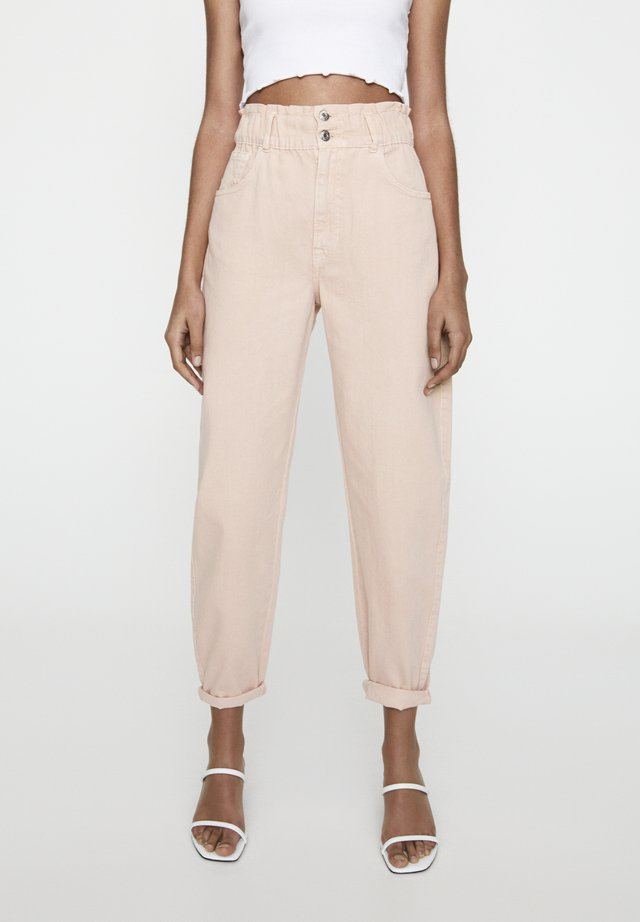 Jeans baggy - rose gold