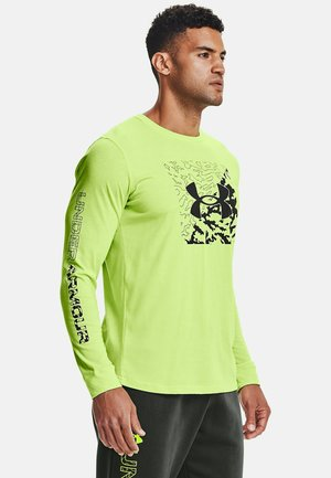 Long sleeved top - lime fizz