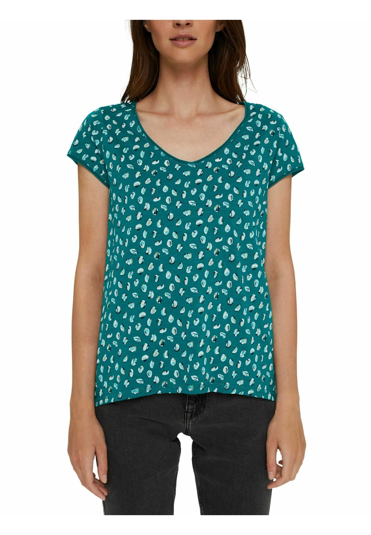 Femme SLUB  - T-shirt imprimé