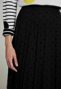 Oui - A-line skirt - black - 3