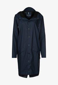Rains - LONG JACKET UNISEX - Regnjakke / vandafvisende jakker - blue - 0