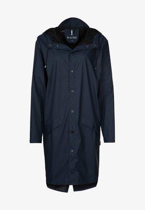 UNISEX LONG JACKET - Waterproof jacket - blue