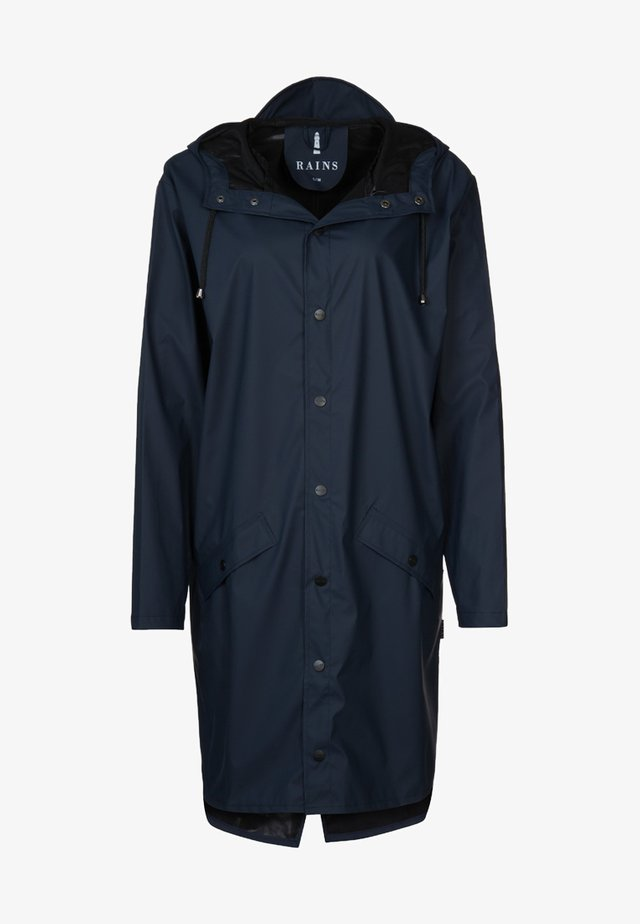 LONG JACKET UNISEX - Regnjacka - blue