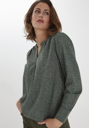 FRPAPRIK - Blusa - light green