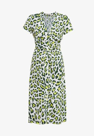 CECILIA - Day dress - summer leopard sulfur