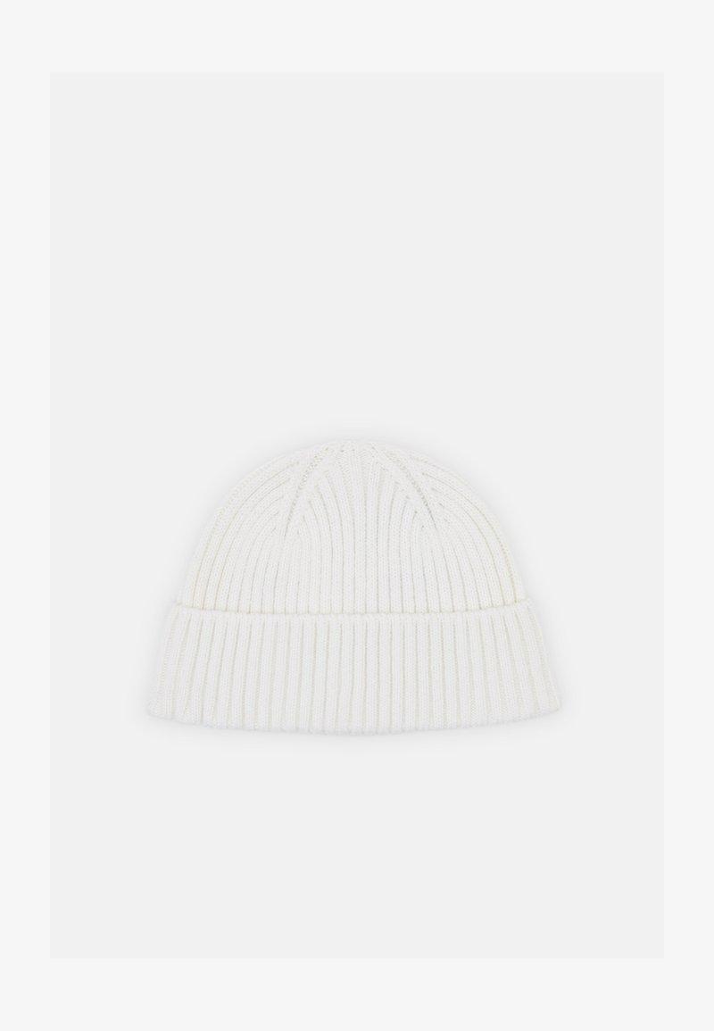 Zign - SHORT MICRO BEANIE UNISEX - Beanie - white