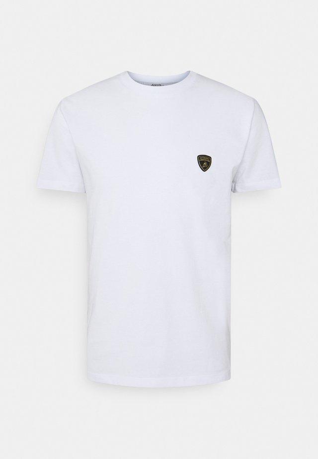MAN CREW - T-shirt - bas - ghiaccio