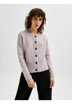 SLFSIA   - Cardigan - chalk pink