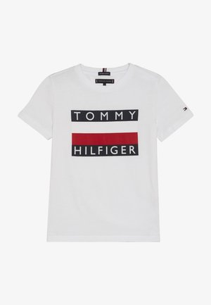 ESSENTIAL TEE - Print T-shirt - white