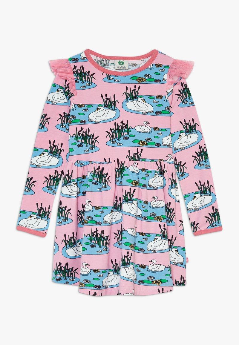 Småfolk - DRESS SWAN - Jersey dress - sea pink